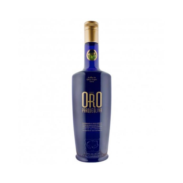 Aceite de oliva virgen extra de Parque Oliva serie oro