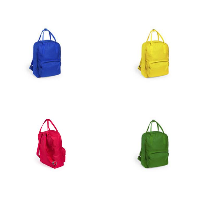 Colores mochila personalizada