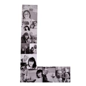 Letra personalizada con foto
