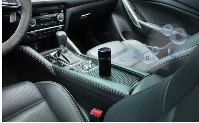 Eliminador olor coche
